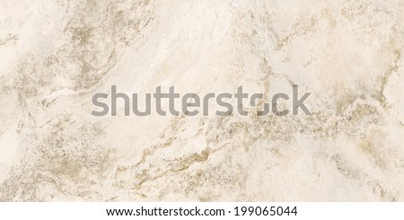 Mexican Noce Travertine tile. Marble texture. Stone background. High resolution - stock photo