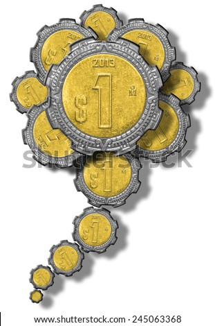 Mexican Peso Flower - stock photo