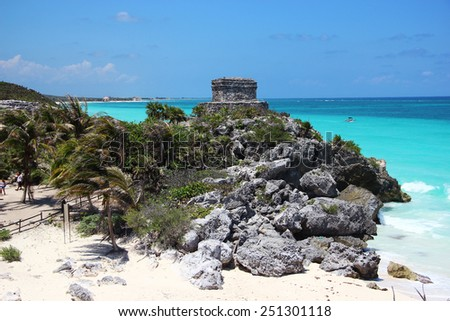 Mexico Beach - stock photo