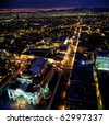 Mexico city at night. - stock photo