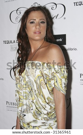 MEXICO CITY - MAY 28 : Actress Betty Monroe attends Royal Closet Autumn/Winter 2009 at Antara Shopping Center May 28, 2009 in Mexico City, Mexico.