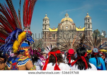 mexico city mexico december 12 2016 celebration of the day of the