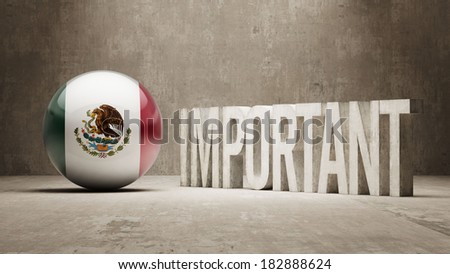 Mexico High Resolution Important  Concept