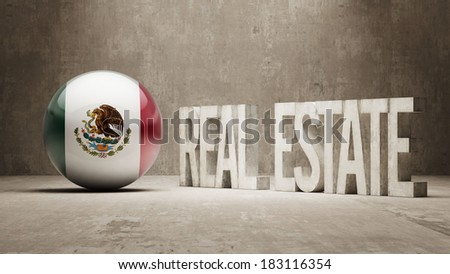Mexico High Resolution Real Estate Concept