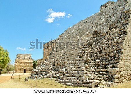 Mexico, ruins, World Heritage Site