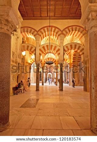 Mezquita of Cordoba, Spain - stock photo