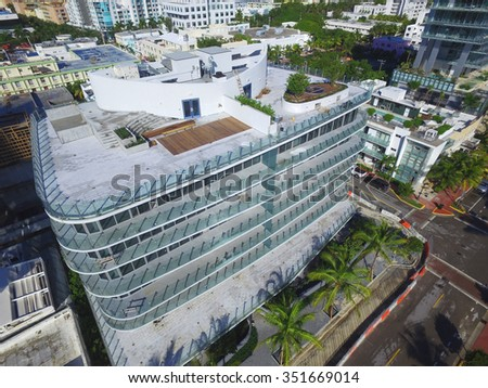 Miami Beach architecture and design - stock photo