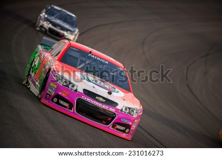 MIAMI, FL - Nov 16: Danica Patrick at the Nascar Sprint Cup Ford Ecoboost 400 race at Homestead-Miami Raceway in Homestead, FL on November 16, 2014