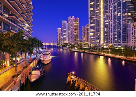 Miami, Florida, United States - stock photo