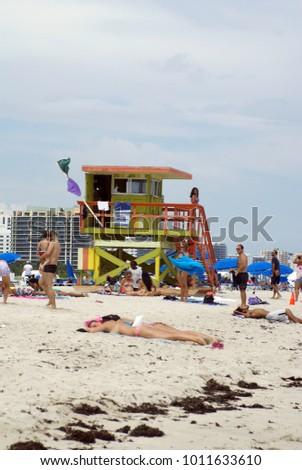 Miami Usa Circa March 2016 Spring Stock Photo 414142081