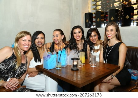 MIAMI - JULY 19: General view and guests of afterparty for Cia Maritima during MBFW Miami Swim on July 19, 2014 in Miami Beach Florida