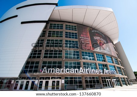 MIAMI - NOVEMBER 5: American Airlines Arena in Miami on November 5, 2011, is home to National Basketball Association team the Miami Heat. American Airlines arena has a maximum capacity of 19,600.