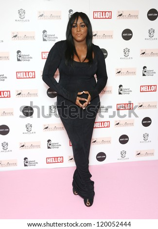 Mica Paris arriving at the The Amy Winehouse foundation ball held at the Dorchester hotel, London. 20/11/2012 Picture by: Henry Harris - stock photo