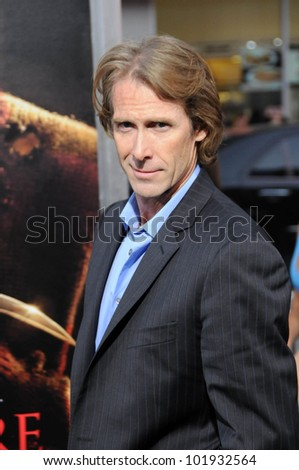 "Michael Bay at the ""Nightmare On Elm Street"" World Premiere, Chinese Theater, Hollywood, CA. 04-27-10"