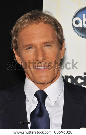 Michael Bolton at the Season 11 premiere of ABC's Dancing With The Stars at CBS Television City, Los Angeles. September 20, 2010  Los Angeles, CA Picture: Paul Smith / Featureflash - stock photo
