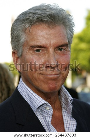 "Michael Buffer attends the Los Angeles Premiere of ""Click"" held at the Mann's Village Theater in Westwood, California on June 14, 2006."