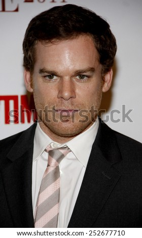 Michael C. Hall at the Taste for a Cure held at the Beverly Wilshire Hotel in Beverly Hills, California, United States on April 15, 2011.