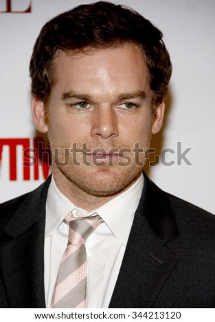 Michael C. Hall at the Taste for a Cure held at the PBeverly Wilshire Hotel in Los Angeles, California, United States on April 15, 2011.