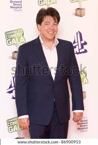 Michael McIntyre arriving for the C4 Comedy Gala 2011, O2 Arena, Greenwich, London. 24/05/2011  Picture by: Simon Burchell / Featureflash - stock photo