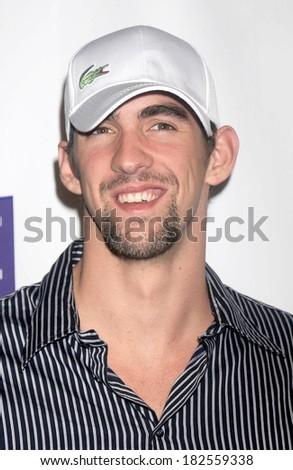 Michael Phelps at Bowlmor Lanes 70th Anniversary Party, Bowlmor Lanes Bowling Alley, New York, NY, October 07, 2008 - stock photo