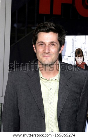 Michael Showalter at The Baxter Premiere, Independent Film Channel IFC Center, New York, NY, August 24, 2005
