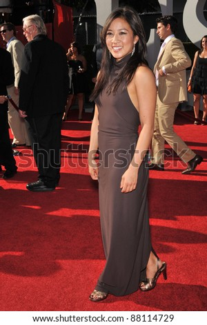Michelle Kwan at the 2009 ESPY Awards at the Nokia L.A. Live Theatre, Los Angeles. July 15, 2009  Los Angeles, CA Picture: Paul Smith / Featureflash