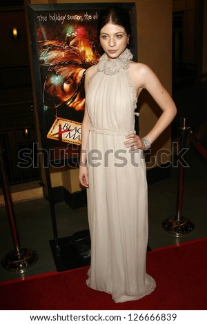 "Michelle Trachtenberg at the Los Angeles Premiere of ""Black Christmas"". Mann's Chinese 6, Hollywood, CA. December 19, 2006."