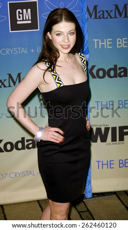 Michelle Trachtenberg attends Women In Film Presents The 2007 Crystal and Lucy Awards held at the Beverly Hilton Hotel in Beverly Hills, California, California, on June 14, 2006.  - stock photo