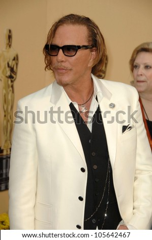 Mickey Rourke at the 81st Annual Academy Awards. Kodak Theatre, Hollywood, CA. 02-22-09