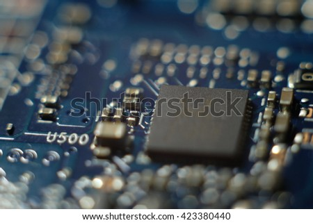 microchip electronic board
