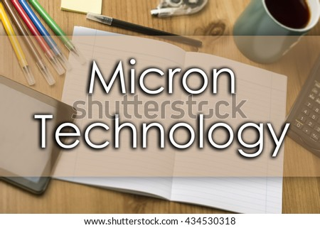 Micron Technology - business concept with text - horizontal image