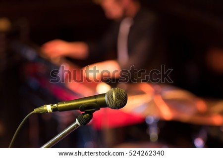 microphone and concert