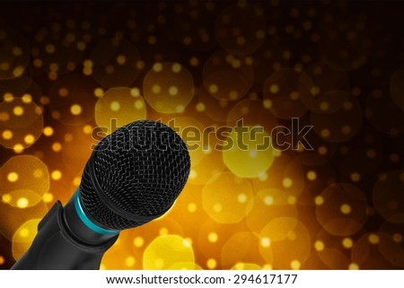 Microphone, Audio Equipment, photo object.