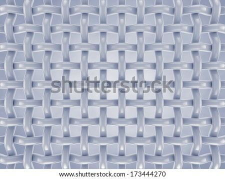Microscopic fibers , Fabric structure  - stock photo