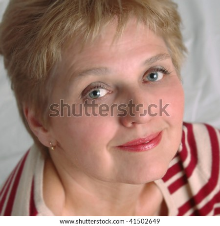 mid aged woman face
