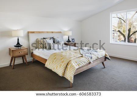midcentury modern bedroom