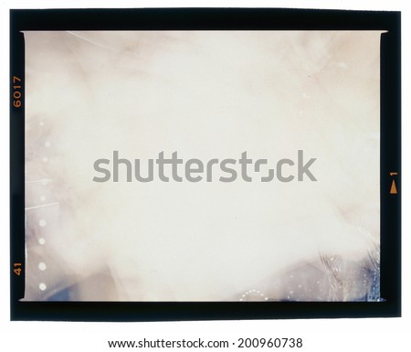 Middle format, scanned frame. Abstract art, background