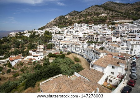 Mijas in Province of Malaga, Andalusia, Spain.