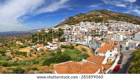 Mijas in Province of Malaga, Andalusia, Spain. - stock photo