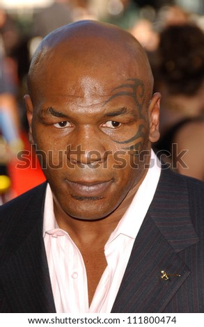 MIke Tyson at the 2007 ESPY Awards. Kodak Theatre, Hollywood, CA. 07-11-07 - stock photo