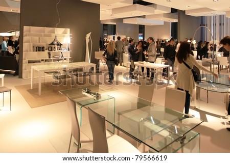 Milan april 15 looking interior design stock photo 79566619 shutterstock for International interior design exhibition