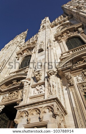Milan Cathedral (Italian: Duomo di Milano) is the cathedral church of Milan, Italy.