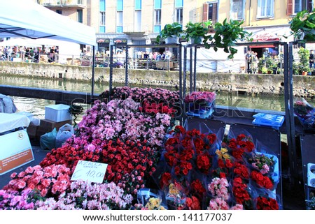 flower market milan stock images, royaltyfree images  vectors, Beautiful flower