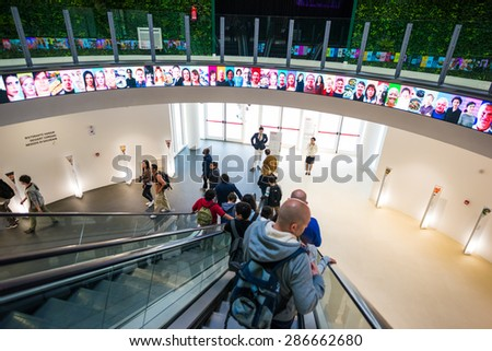 MILAN, ITALY - MAY 27: corea pavillon at Expo, universal exposition on the theme of food on MAY 27, 2015 in Milan