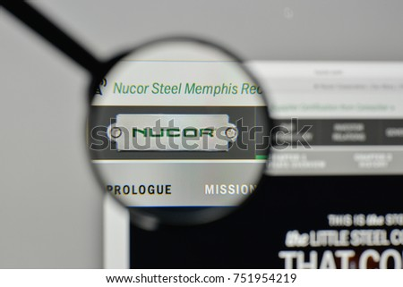 Milan Italy November 1 2017 Nucor Stock Photo 751954219 Shutterstock