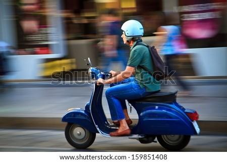 italy scooter stock images, royalty-free images & vectors