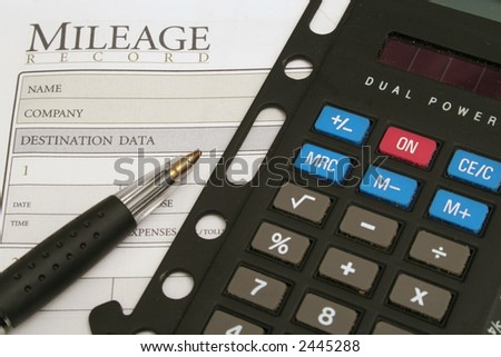 mileage log & calculator
