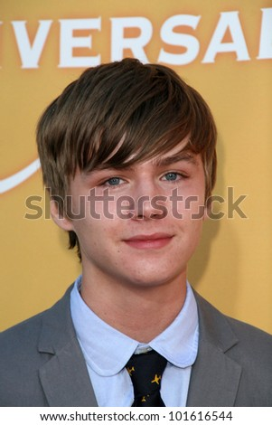 Miles Heizer at the NBC Summer Press Tour Party, Beverly Hilton Hotel, Beverly Hills, CA. 07-30-10 - stock photo