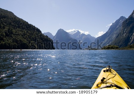 Milford Sound, New Zealand - Kayak Tour