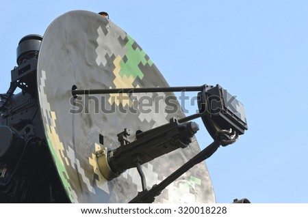 Military abstract - stock photo